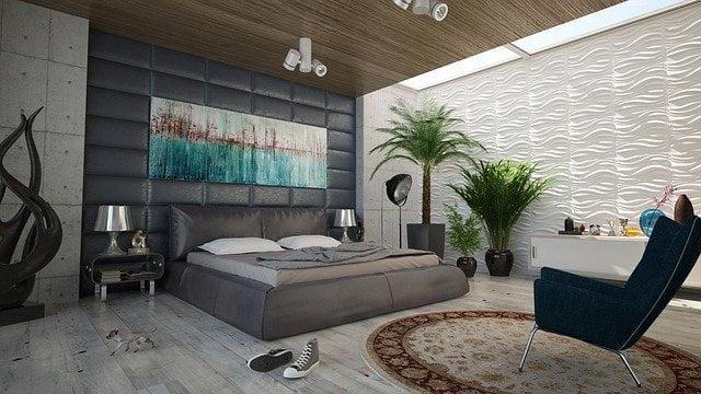 Modern Bedroom Painting Ideas